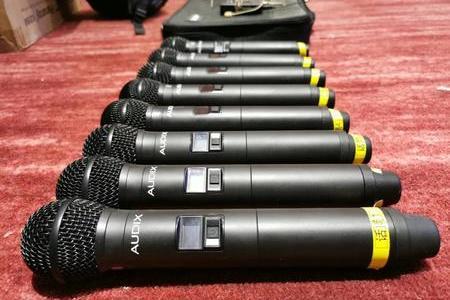 Audix50支無線話筒重磅亮相絲綢之路國際旅游節