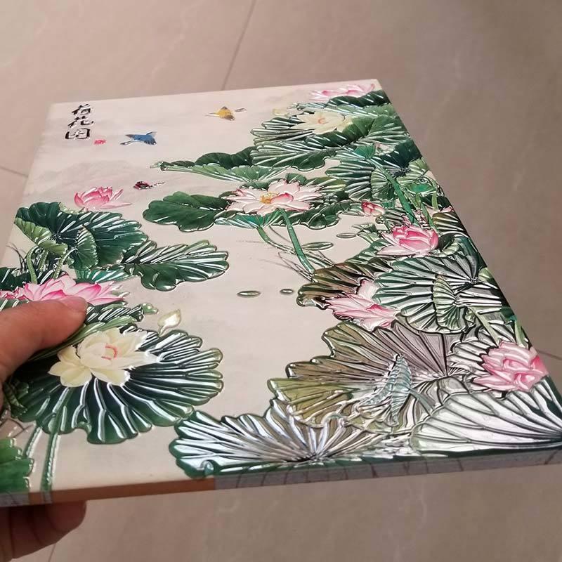 A1 uv printer for ceramic tiles 3d effect