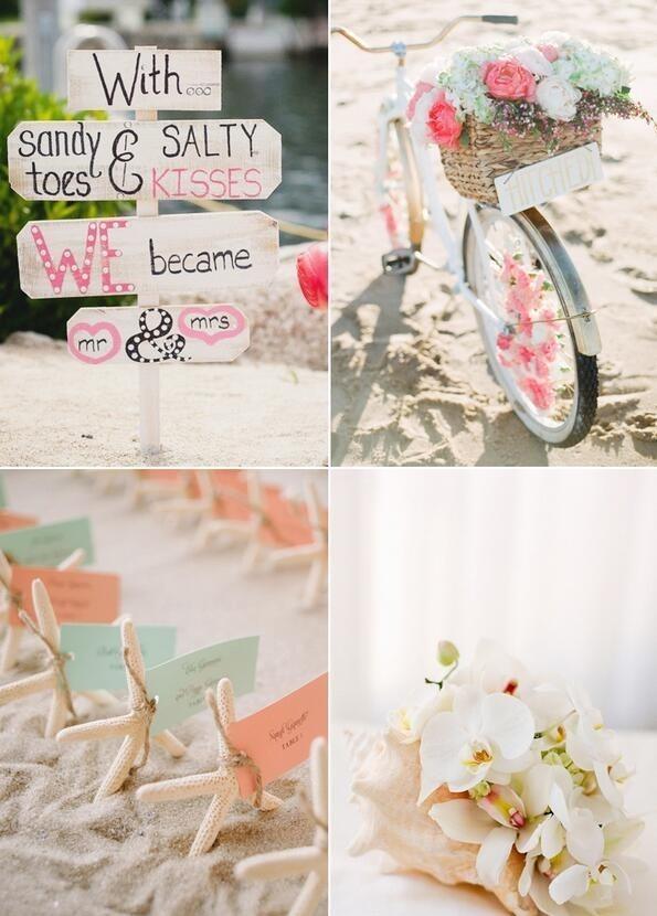 13个浪漫海洋风主题婚礼设计灵感