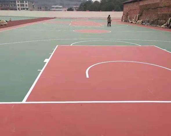 丙烯酸球場和矽PU球場施工方案與技術措施的材料供給