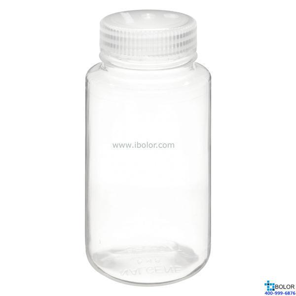 Nalgene透明广口瓶,2107-0004 容量125mL PMP材质 NALGENE/耐洁
