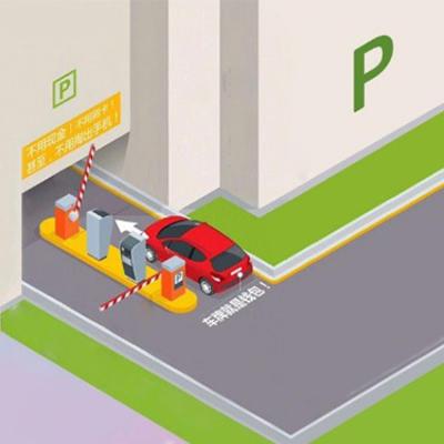 Yujin Technology parking lot self-parking system
