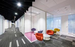 办公室装修如何正确选择隔断