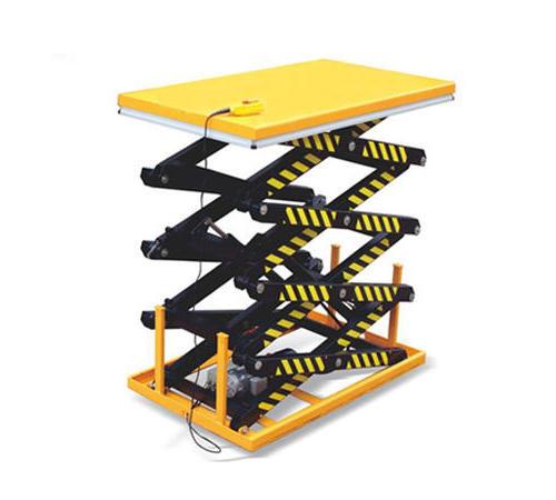 四剪叉电动升降平台