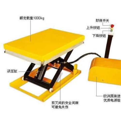 上海威顺某电器有限公司再次签约特恒旺两台固定升降平台