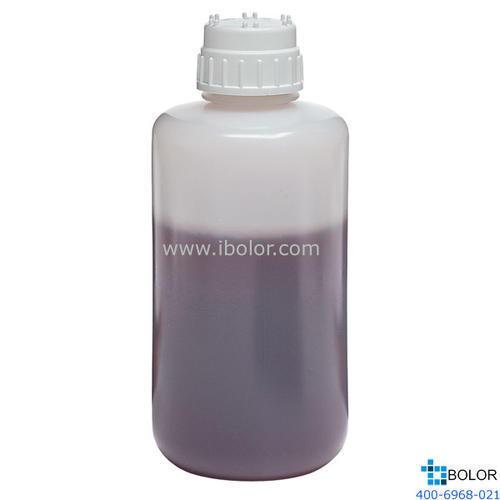 2125 耐用瓶,1L 高密度聚乙烯;白色聚丙烯螺旋盖2125-1000 NALGENE/耐洁