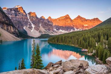 加拿大 阿尔伯塔省 班夫国家公园 Banff national park Alberta Canada