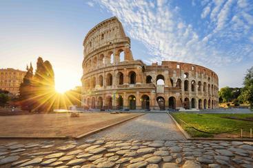 意大利 罗马斗兽场 The Roman Colosseum Italy