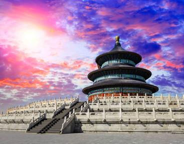 中国 北京 天坛 Temple Of Heaven Beijing China
