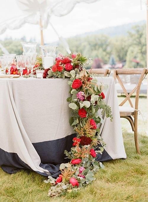 婚礼桌花推荐,爱还可以如此表达