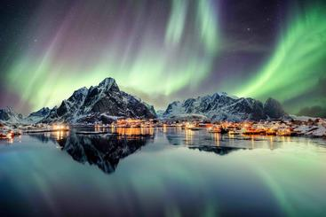 挪威 北极光  Northern lights  Norway