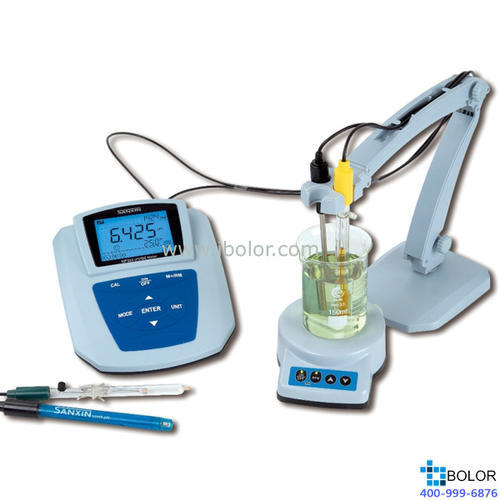 MP523-07臺式碘離子濃度計 量程:1~6.3pI;0.06-12700mg/L SANXIN/