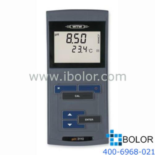 pH3110 SET 3手持式酸度计 IP67全防水 SenTix 81 玻璃pH电极(内置温度探头)