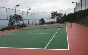 体育工程之学校丙烯酸球场运动场地施工开工前准备