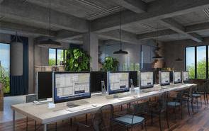 上海办公室装修设计之复式办公室装修设计的注意事项