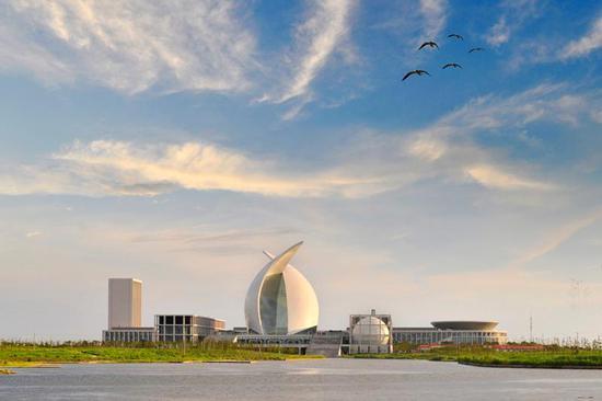 临港地标,航海博物馆。