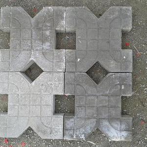 上海一家专业型厂家长期供应pc仿石 混凝土植草砖 生态植草砖