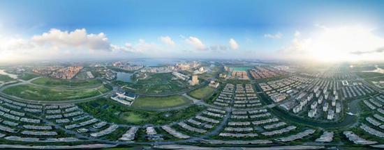 临港新片区全貌。