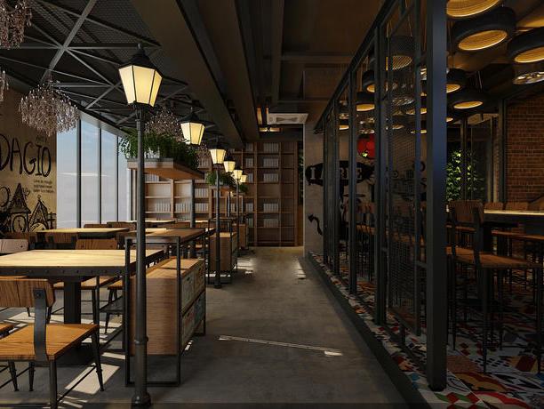 上海店铺装修设计之餐厅装修的知识