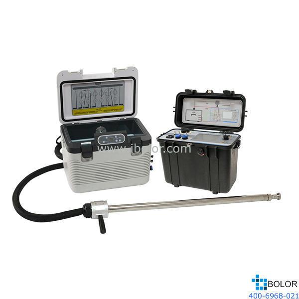 ZR-3710D型多路烟气采样器 溶液吸收法,双路六瓶(每路3个吸收瓶)全自 动切换恒流采样污染源有害烟气
