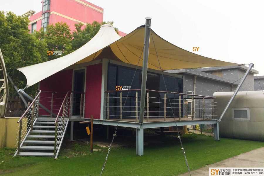 野奢格拉丹帳篷酒店