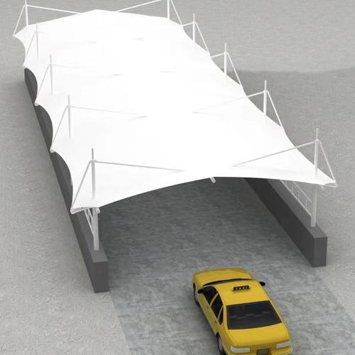 PTFE建筑膜材 广泛应用于展览中心停车棚