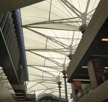 重庆体育商业中心广场膜结构