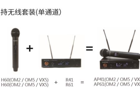 Audix AP41-OM2無線手持話筒