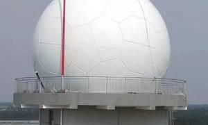 PTFE建筑膜材广泛应用于雷达罩项目