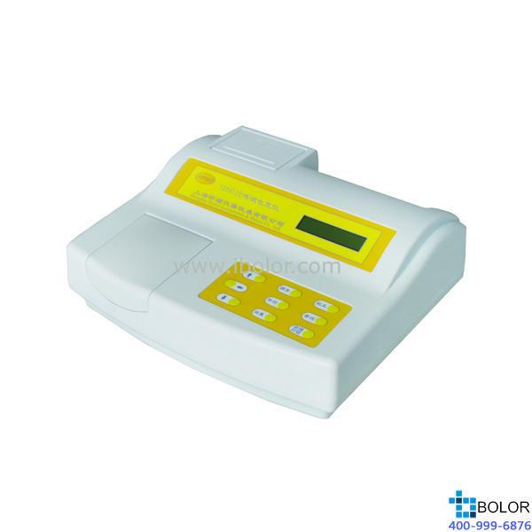 SD9012AP 台式水质色度仪 0~500度 分辨率0.1度 RS232接口 带微型打印机