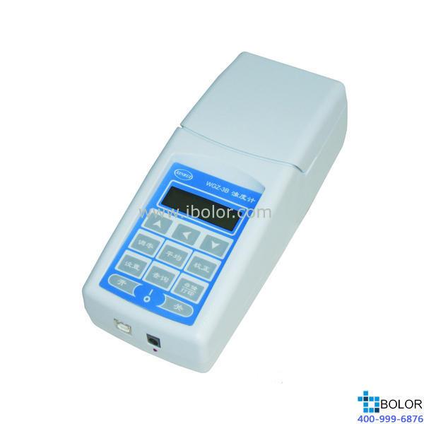 WGZ-3B 便攜式濁度儀 測量范圍:0~1000NTU 分辨率0.01 RS232接口