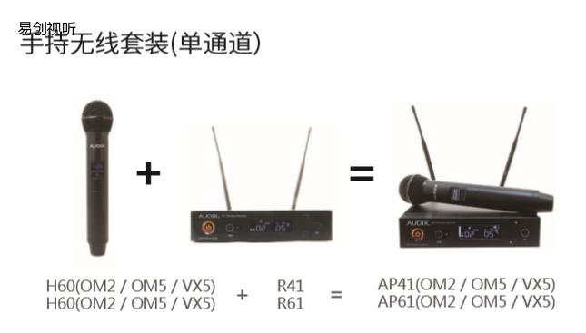Audix 无线系统