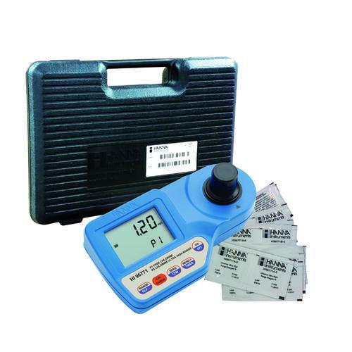 HI96771微电脑双量程余氯测定仪 0.00~5.00mg/L或0~500mg/L HANNA/哈纳