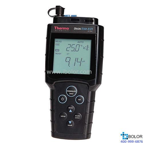 Orion Star™ A121 便携式 pH 值测量仪 STARA1210 主机,电极另配