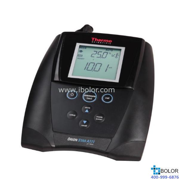 Orion A111 台式 pH 值测量仪 8157BNUMD ROSS Ultra 三极管环氧树脂壳体 pH/ATC 电极