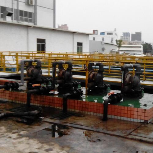 萧川气动隔膜泵(环保行业输送污水)