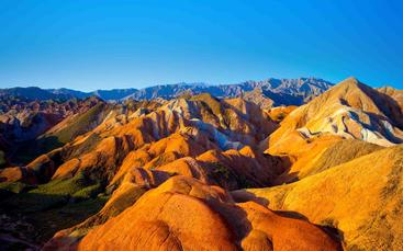 中国 甘肃 七彩丹霞 Colorful Danxia Gansu China