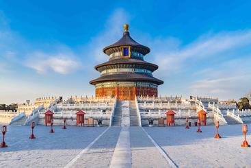 中国 北京 天坛 Temple Of Heaven Beijing China