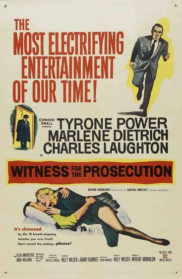 控方证人  Witness for the Prosecution (1957)