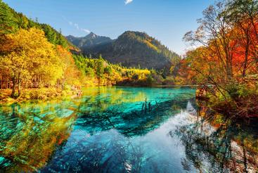 中国 四川 九寨沟 Jiuzhaigou Sichuan China