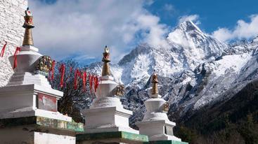 中国 四川 四姑娘山 Siguniang Mountain Sichuan China