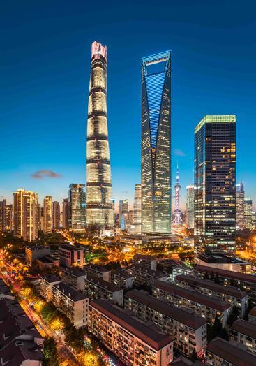 中国 上海 陆家嘴 Lujiazui Shanghai China