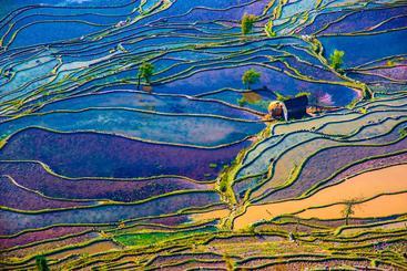 中国 云南 东川红土地 Dongchuan Red Land Yunnan China
