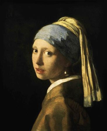 《戴珍珠耳环的少女》The girl with the pearl earring__W0100001GPN