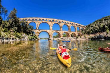 法国 多姆山 加德桥 Gard Bridge Domes France