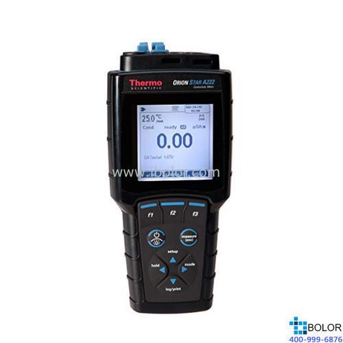 Orion Star™ A222 电导率便携式测量仪 主机;电极另配;STARA2220
