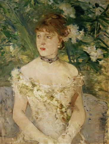 洛特雷克《肖像女人》Portrait of a Young Woman Lautrec__W0401020GPN