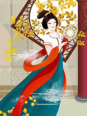中国风汉服仕女 Chinese style hanfu ladies__I0101021QTW