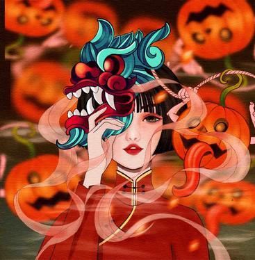 中国风插画 Lllustration of Chinese style__I0101008QTW
