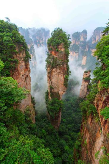 中国 湖南 张家界 Zhangjiajie Hunan China